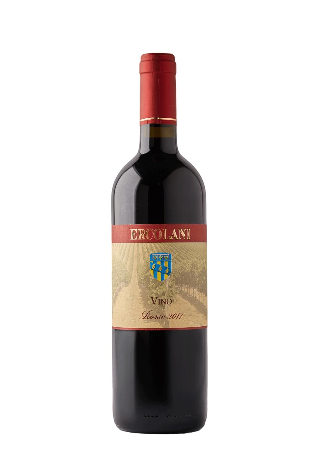 Vino rosso i.g.t Ercolani 2016