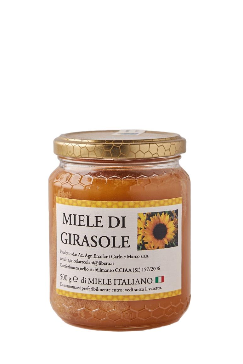 Мёд сланечнікавы